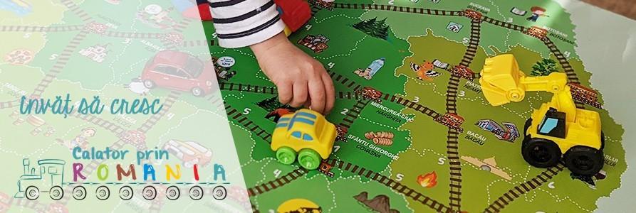Calator prin Romania - joc geografic educativ